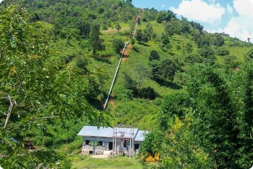 Hydroplant in Myanmar, EDF