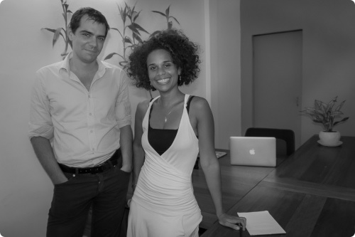 Sevea consulting founders, Cécile Dahomé and Cyril Monteiller