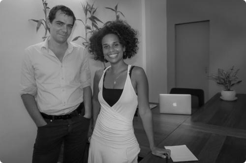 Sevea consulting founders, Cécile Dahomé and Cyril Monteiller